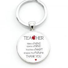 Sleutelhanger 'Teacher Thank you'