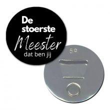 Flesopener/Magneet | De stoerste meester