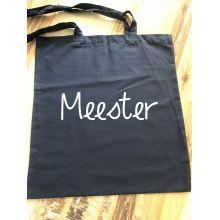 Katoenen tas | Meester