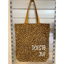 Tas met luipaardprint   Tofste juf