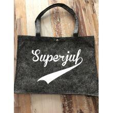 Vilten tas groot | Superjuf