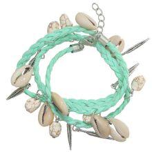 Armband 'Beach' - Mintgroen